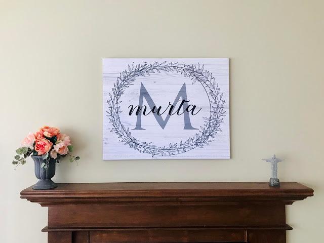 @nicregiane's cover photo for 'NICA POR AÍ: Dica de decoração: Quadros personalizados com sobrenome'