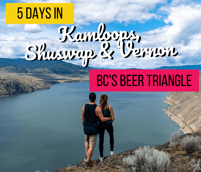 @fuelforthesole's cover photo for '5 Days in Kamloops, Shuswap and Vernon - The BC Craft Beer Triangle - Fuel For The Sole Travel, Outdoor & Adventure'