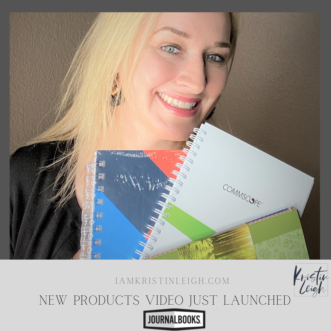 @iamkristinleigh's cover photo for 'New Influencer Video For Journal Books'