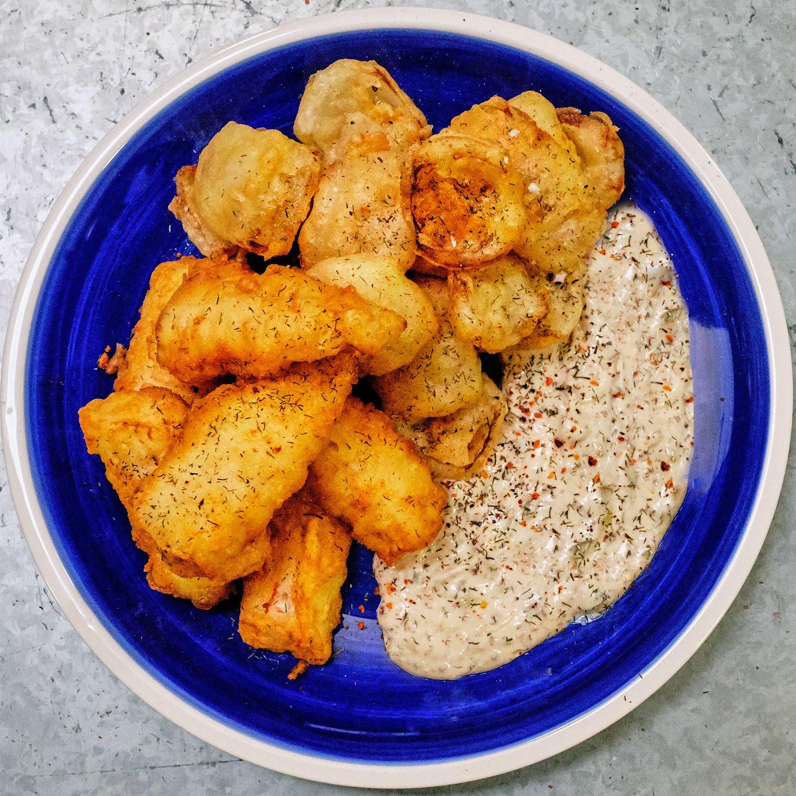 @stacieinatlanta's cover photo for 'Sourdough Tempura Fried Pacific Cod Fish Recipe Divine Lifestyle'