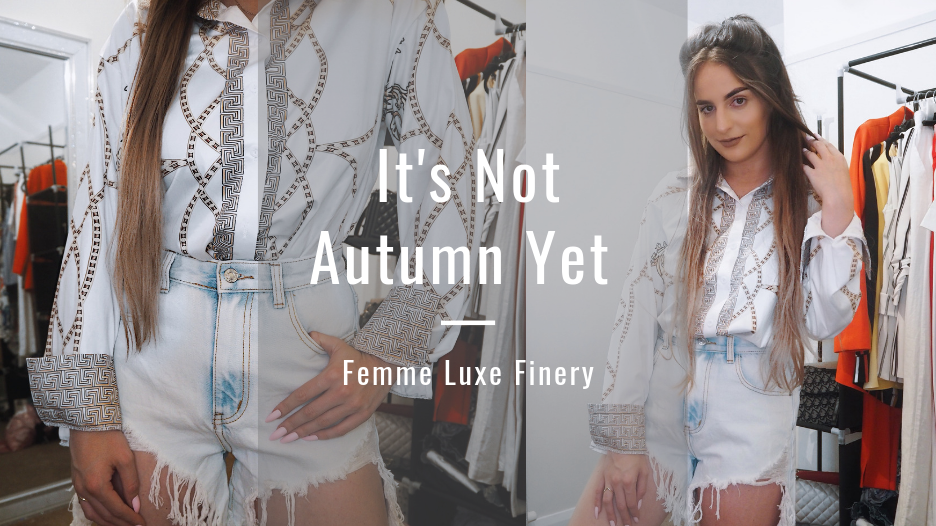 @holajoannekennedy's cover photo for 'It's not autumn yet   Femme Luxe Finery - Hola Joanne'