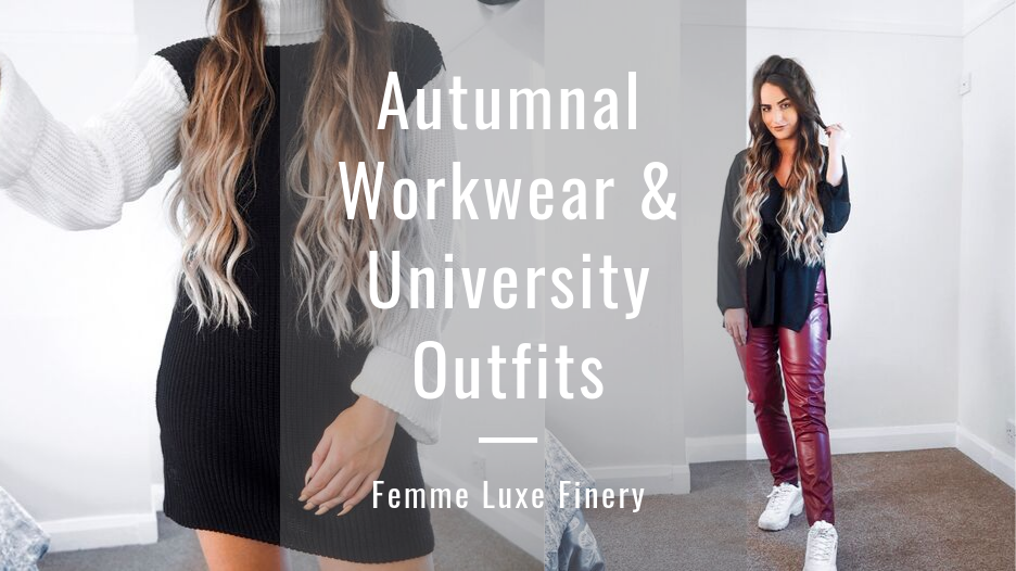 @holajoannekennedy's cover photo for 'Autumnal Workwear & University Outfits   Femme Luxe Finery - Hola Joanne'