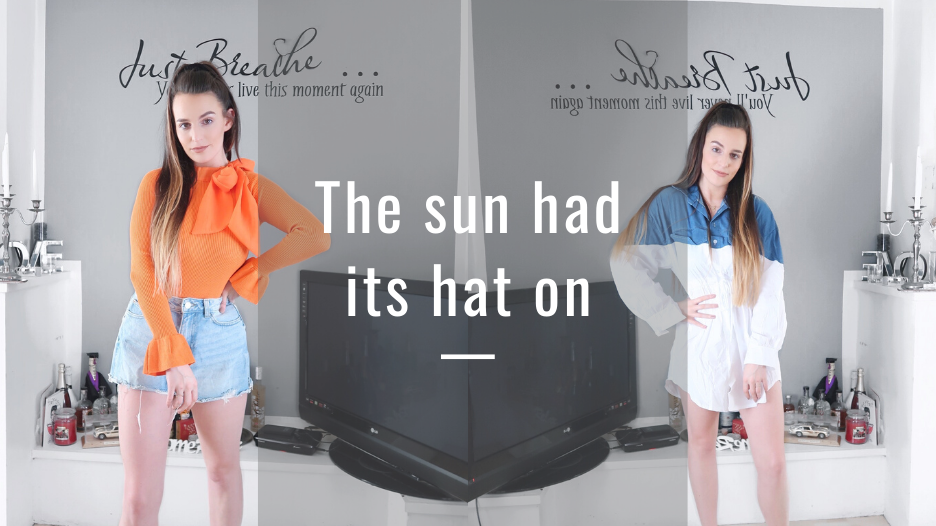 @holajoannekennedy's cover photo for 'The sun had its hat on - Hola Joanne'