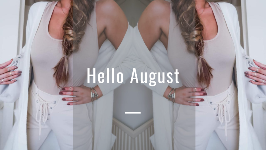@holajoannekennedy's cover photo for 'Hello August - Hola Joanne'