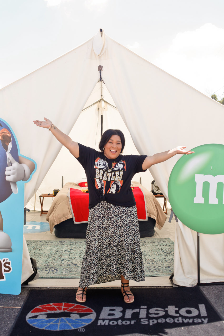 @kpfusion's cover photo for '#ItsBristolBaby | Glamping with M&M'S® and NASCAR | KP FUSION'