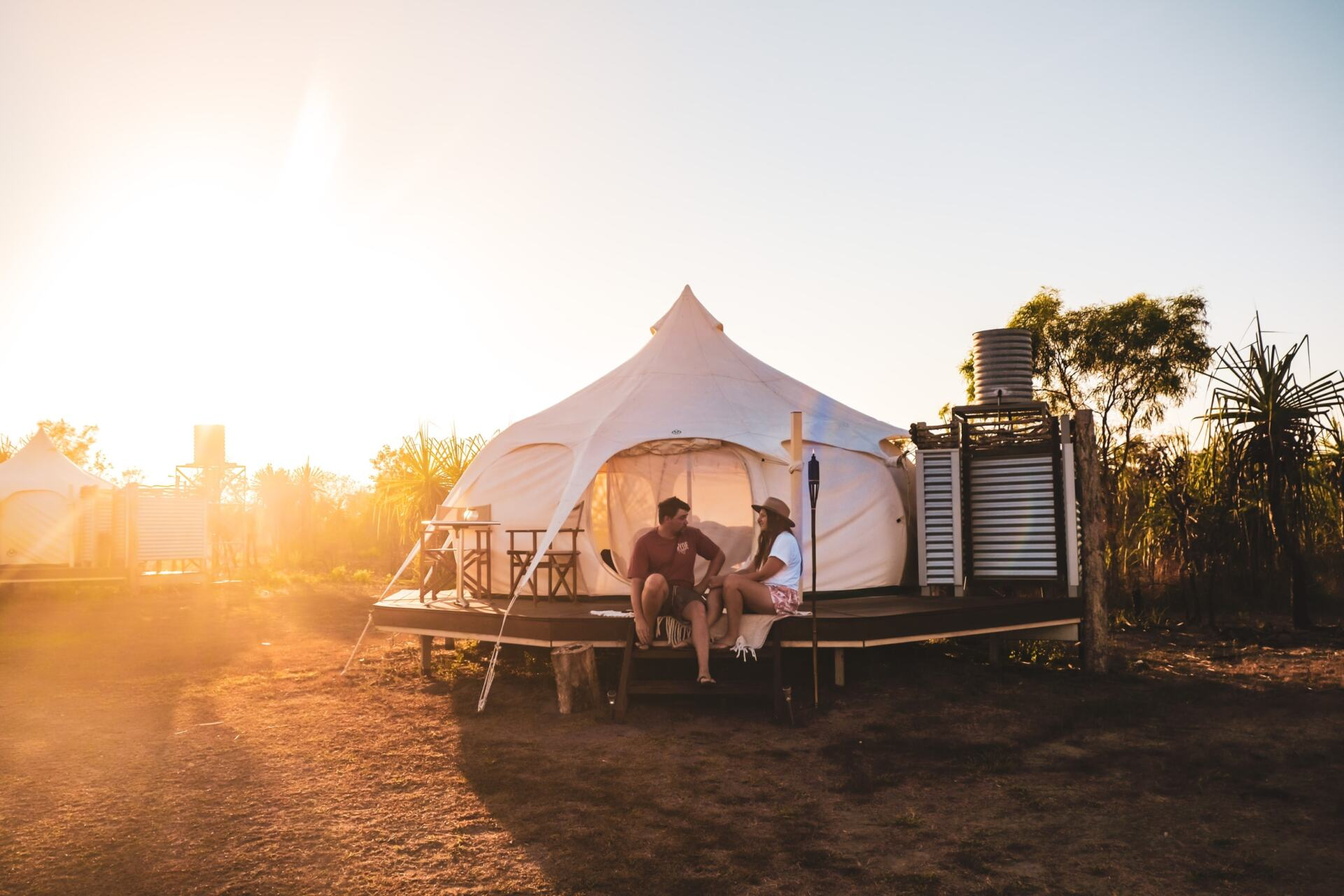 @exploreshaw's cover photo for 'A Sleepover at the Top End Safari Camp | Explore Shaw'
