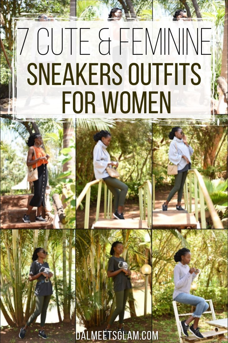 @daleneekirapa's cover photo for '7 Cute Sneakers Outfits For Women- Loom Waterproof Sneakers Review'
