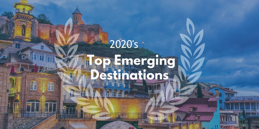 @travellemming's cover photo for 'Where to Travel in 2020 (30 Emerging Destinations) - Travel Lemming'