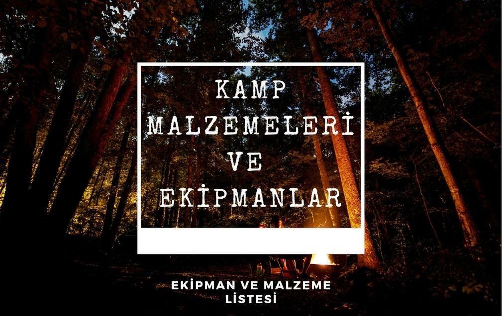 @gezentiyiz.biz's cover photo for 'Kamp Malzemeleri ve Ekipmanlar - Gezentiyiz Biz'