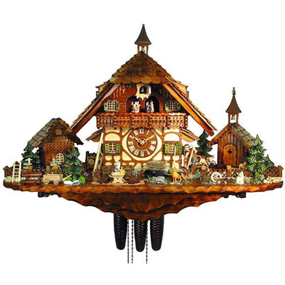 @wallofclocks's cover photo for 'The Chalet Cuckoo Clocks Style   Wall Of Clocks'