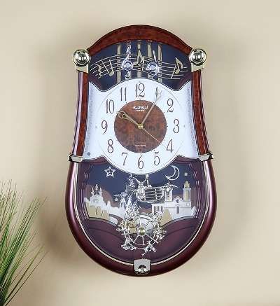 @wallofclocks's cover photo for 'Musical Clocks - Motion and Musical Clocks   Wall Of Clocks'