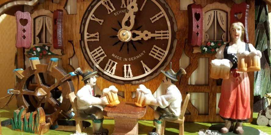 @wallofclocks's cover photo for 'Cuckoo Clocks from Germany Black Forest   Wall Of Clocks'