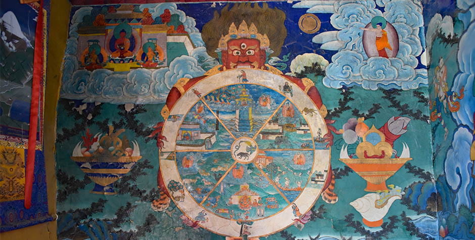 @itibettravel's cover photo for 'Buddhist Wheel of Life'