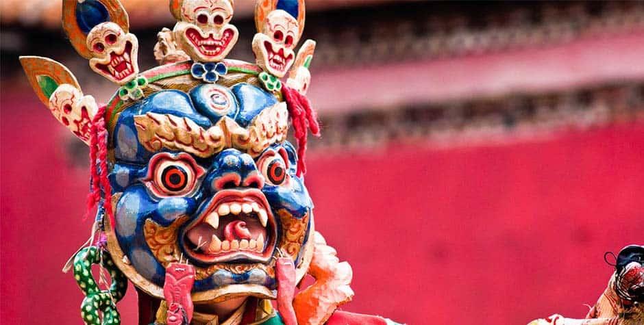 @itibettravel's cover photo for 'Tibetan Cham Dance'
