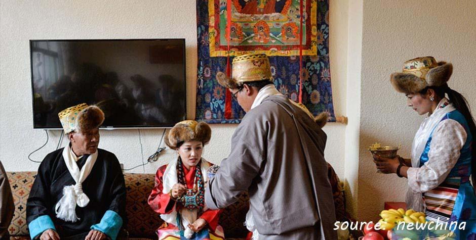 @itibettravel's cover photo for 'Tibetan Marriage'