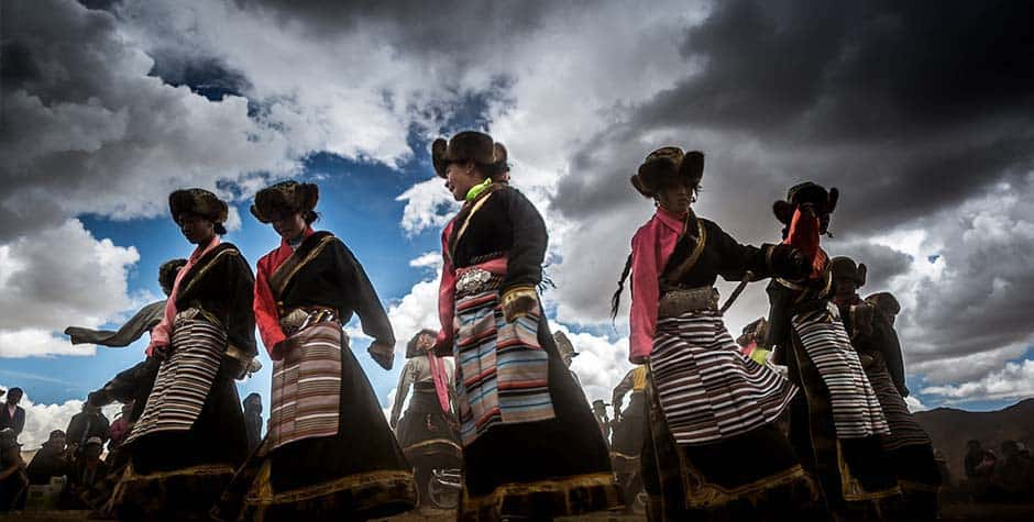 @itibettravel's cover photo for 'Tibetan Song and Dance'