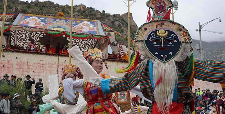 @itibettravel's cover photo for 'Tibetan Opera'