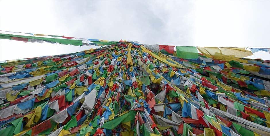 @itibettravel's cover photo for 'Tibetan Prayer Flag'