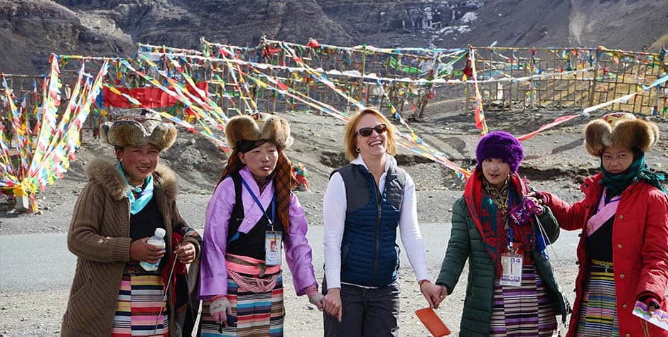 @itibettravel's cover photo for 'Traditional Tibetan Clothing'