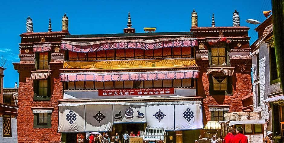 @itibettravel's cover photo for 'Ramoche Temple ར་མོ་ཆེ་དགོན་པ་'