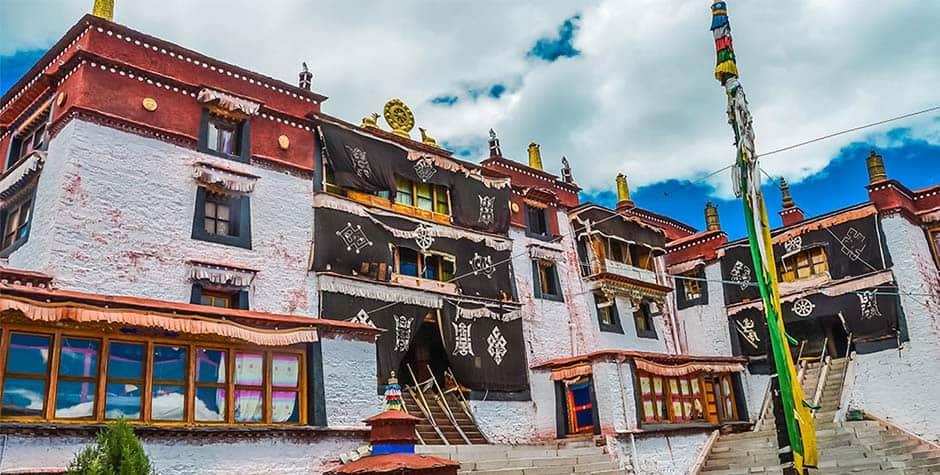 @itibettravel's cover photo for 'Samding Monastery བསམ་སྡིང་དགོན།'