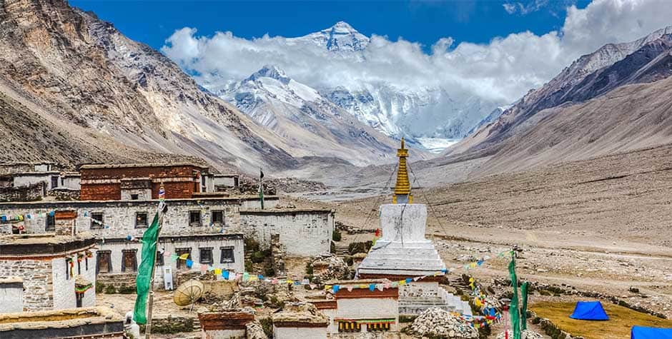 @itibettravel's cover photo for 'Rongbuk Monastery རྫ་རོང་ཕུ་དགོན་'