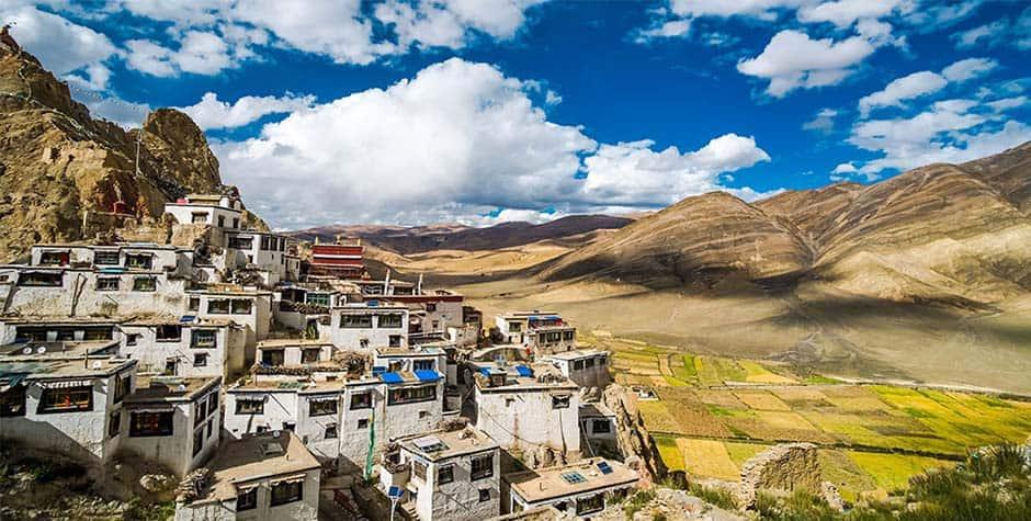 @itibettravel's cover photo for 'Shelkar fort and Monastery ཤེལ་དཀར་'