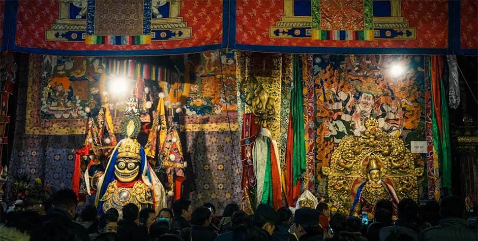 @itibettravel's cover photo for 'Palden Lhamo Festival'
