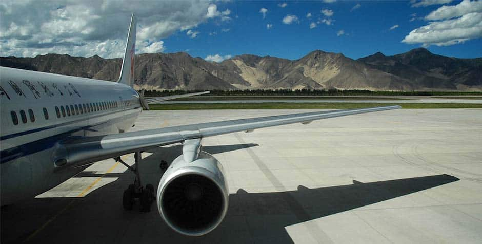 @itibettravel's cover photo for 'Shanghai to Lhasa Flight'