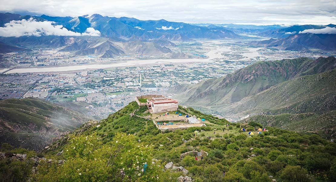 @itibettravel's cover photo for 'Trekking in Lhasa City part two, Trekking to GephelUtse'