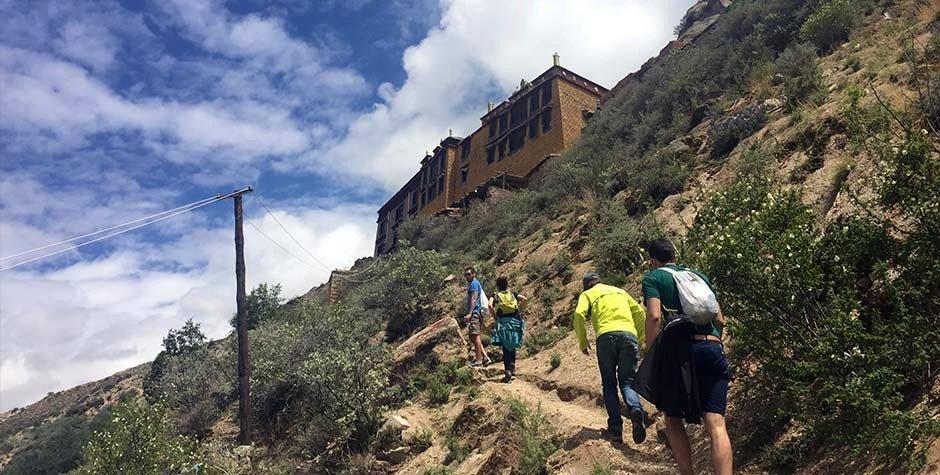 @itibettravel's cover photo for 'Trekking in Lhasa city, Trekking to SeraUtse'