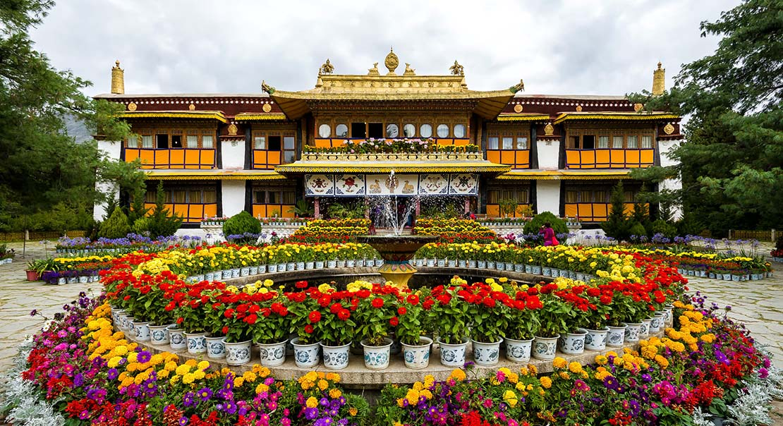 @nomadictibet's cover photo for 'Norbulingka'