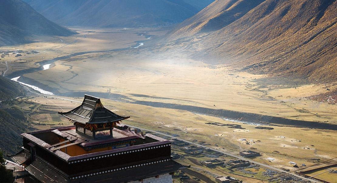 @nomadictibet's cover photo for 'Drigung Monastery'