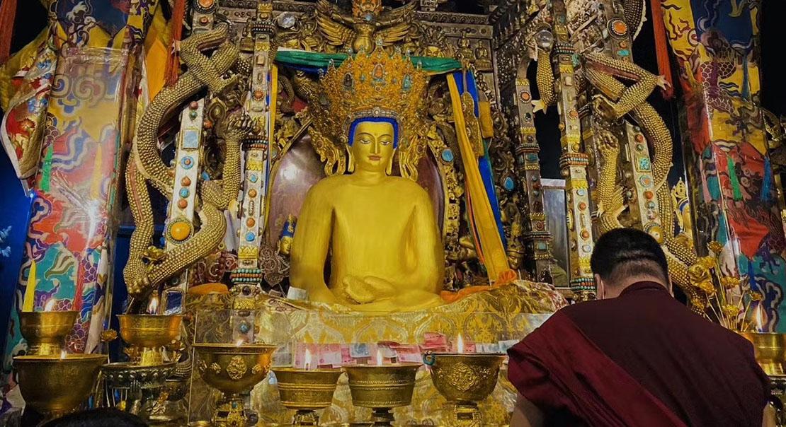 @nomadictibet's cover photo for 'Buddha Shakyamuni'
