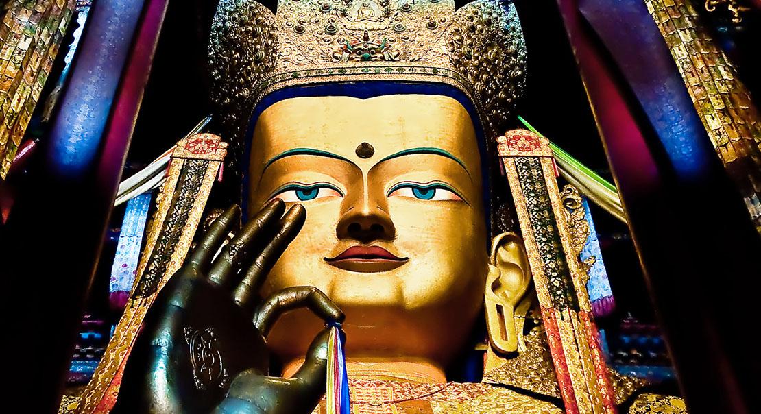 @nomadictibet's cover photo for 'Maitreya'