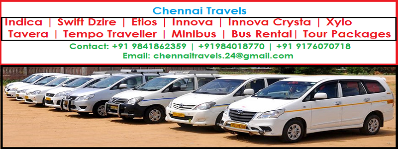 @chennaitravels's cover photo for 'Chennai Travels Tariff Rates for Local & Outstation Trips   Chennai Travels'
